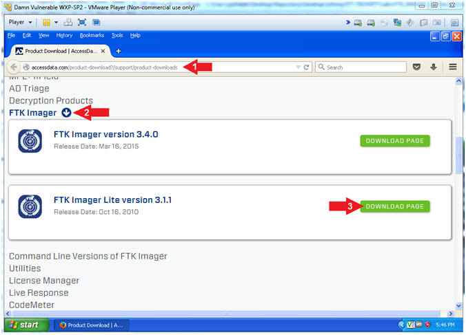 Ftk Imager Lite Lesson 2 Create Ftk Imager Lite Iso With