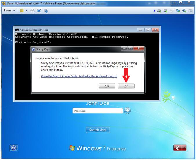 LosBuntu: Lesson 2: Activate & Set Windows 7 Admin Password