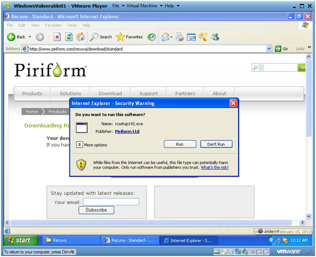 Recuva File Recovery: Lesson 1: How to Download and Install