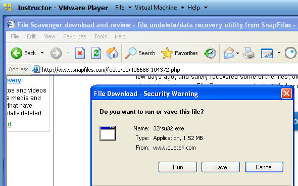 File Recovery: File Scavenger 3 2