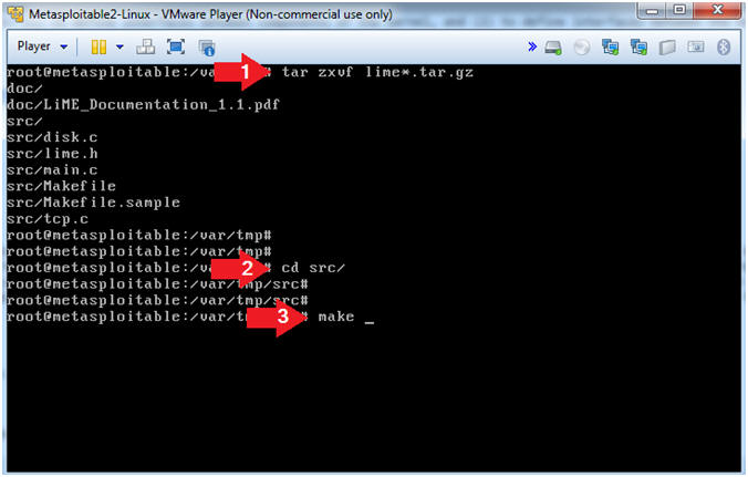 metasploitable project lesson 1 downloading and configuring