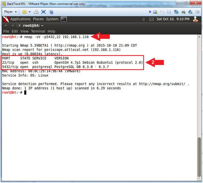 Metasploitable Project: Lesson 12: Postgres SQL Bruteforce