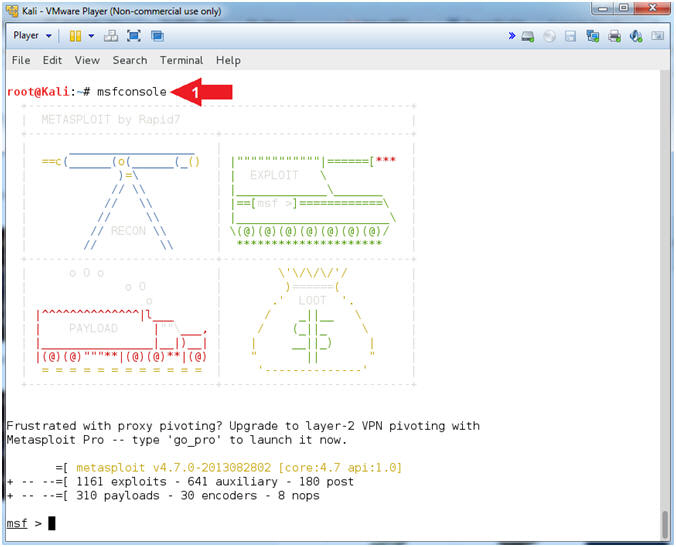 Metasploit: MS10-061: Kali 1 0: Detect NetBIOS Printer