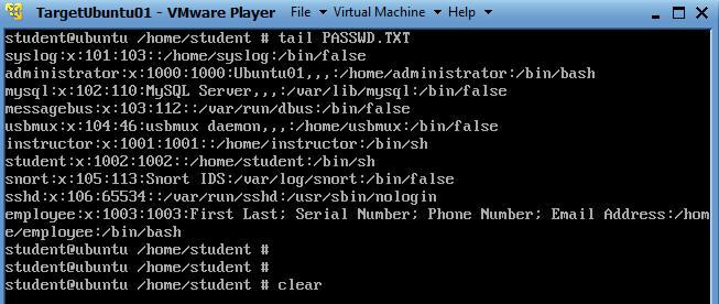 Unix/Linux Lesson 2: cp, mv, rm, rmdir, cat, more, head