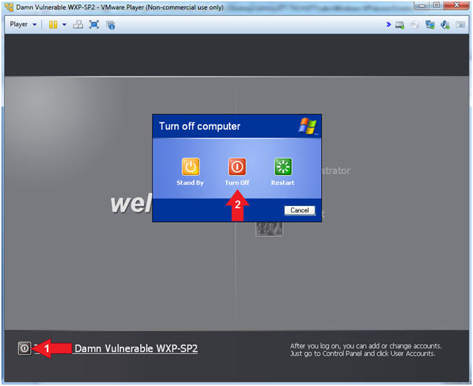 Damn Vulnerable Windows XP: Lesson 3: Rearm or Extend Trial