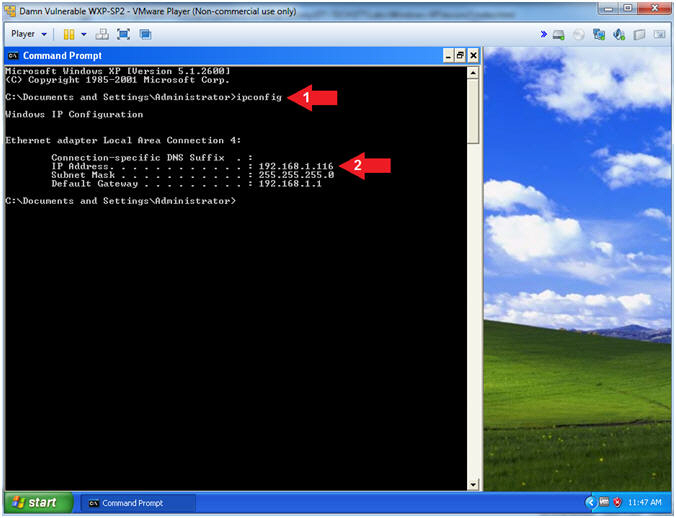 Damn Vulnerable Windows XP: Lesson 8: How to install OllyDbg